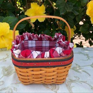 Longaberger 🍓 Strawberry Basket